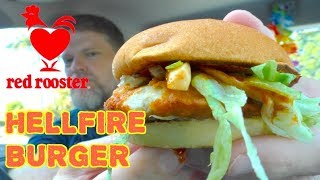 Red Rooster Hellfire Burger Review - Greg's Kitchen