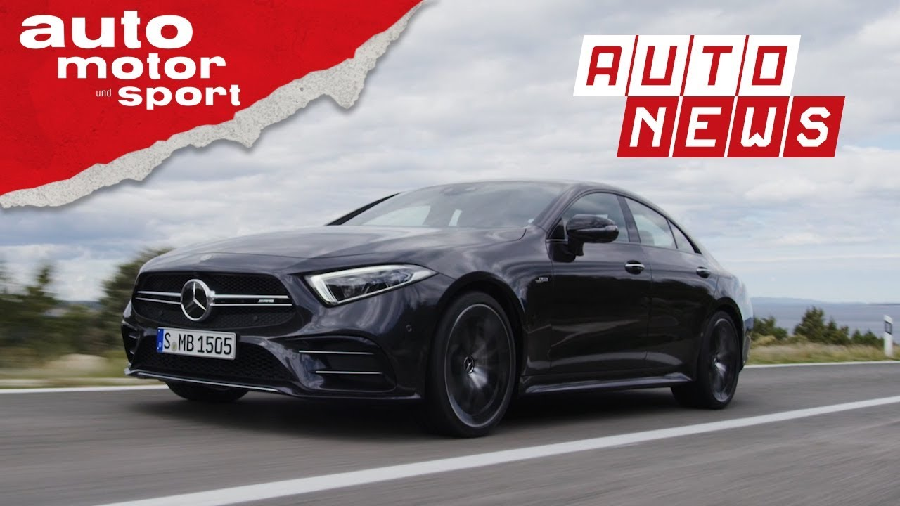 Mercedes-AMG CLS 53: Coupé-Coup? - NEWS | auto motor und sport - YouTube