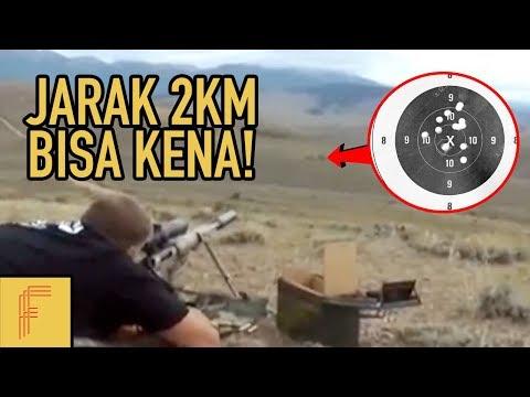 Jarak 2km Juga Kena..5 Sniper Paling Canggih Dan Mematikan