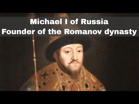 21st February 1613: Romanov dynasty begins under Michael I of Russia