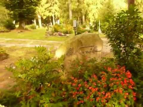 Das Grab von Gert Fröbe