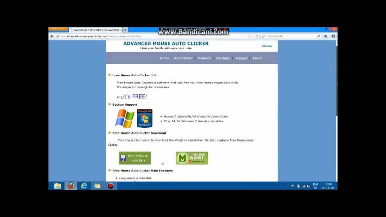 Auto Clicker free download
