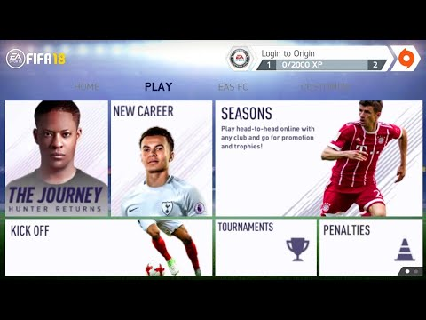 FIFA 14 Mod FIFA 18 Android Offline New Menu Real Faces New Squad Update