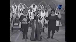 فيروز و وديع الصافي و نصري شمس الدين - تراب عينطورة