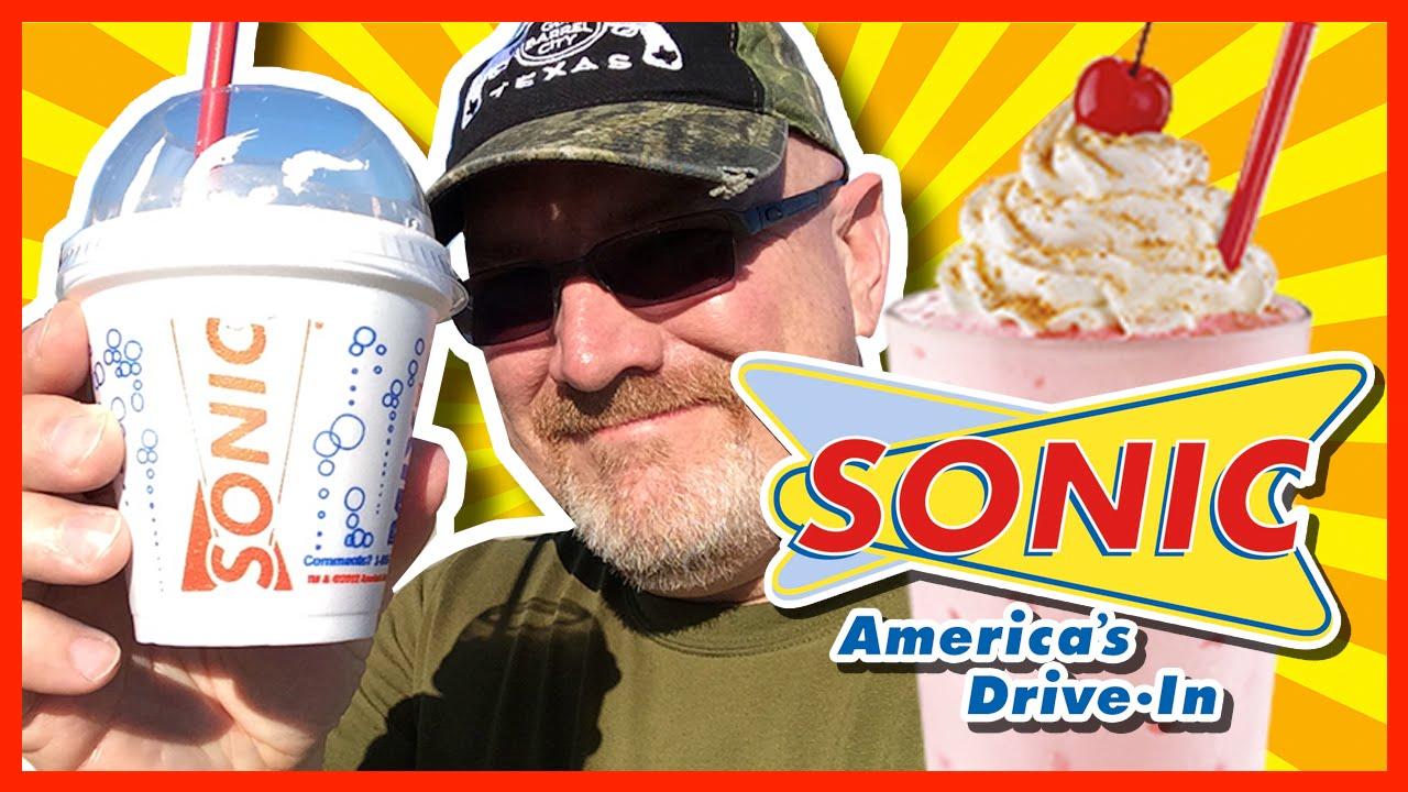Sonic Master Shake Strawberry Cheesecake Shake Review
