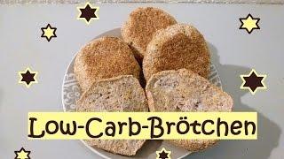 Low-Carb-Brötchen mit Nährwerttabelle und ganz wenig Kohlenhydraten