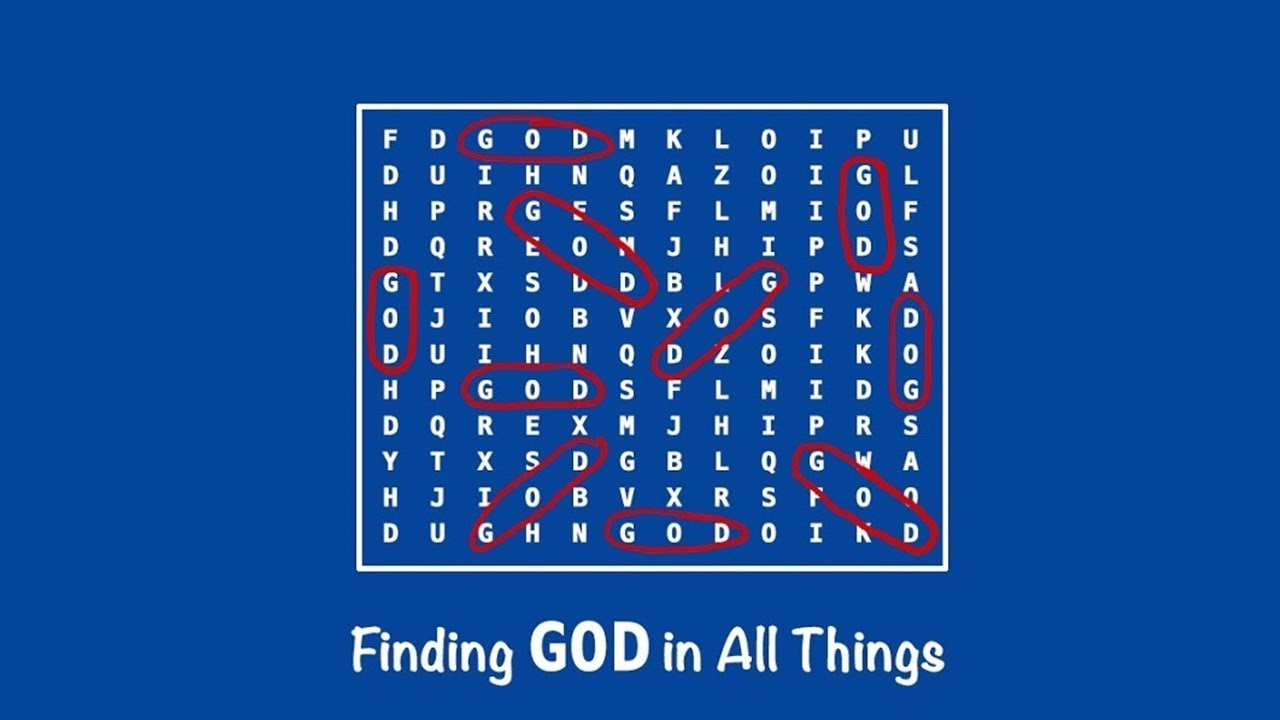 Turning Our Ignatian On Finding God In All Things