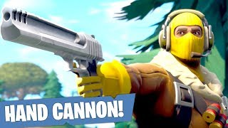 THE HAND CANNON WIN?! (Fortnite Battle Royale)