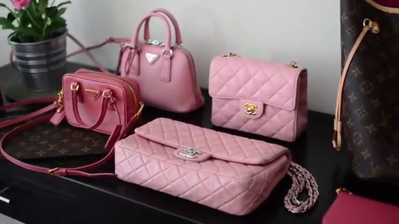 The Pink Bag Tag