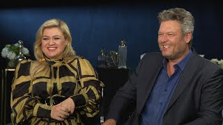 Blake Shelton and Kelly Clarkson on Having Taylor Swift Mentor on The Voice (Exclusive)