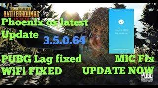 Phoenix os latest update 3 5 0 64 Tip to install | PUBG lag fix