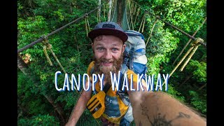 Scary Canopy walkway, going to Penang FAILED | Follow Mike in Malaysia