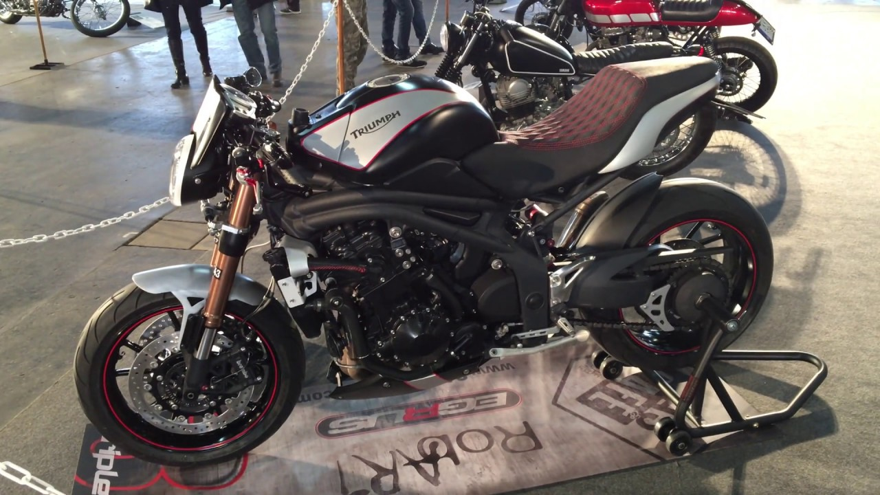 Triumph Speed Triple Cafe Racer Hungary Youtube