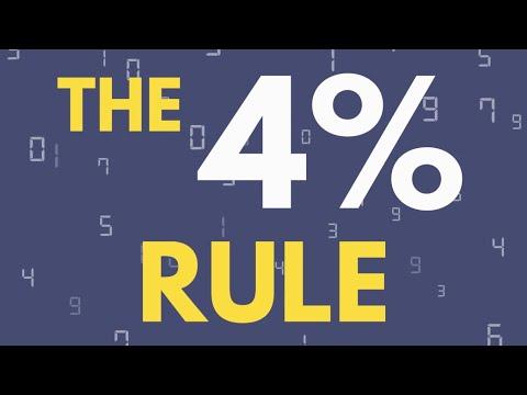 HOW MUCH DO I NEED TO RETIRE? - F.I.R.E And The 4% Rule