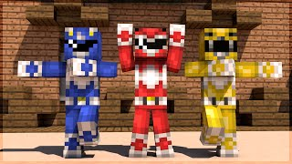 Minecraft: GO GO POWER RANGERS!!! (BUILD BATTLE)