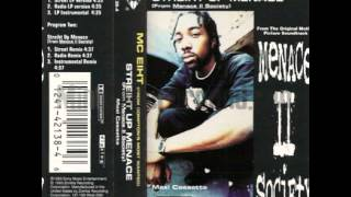 Streiht Up Menace (Remix Instrumental) - MC Eiht [ LP ] --((HQ))-- DIGITALLY RESTORED