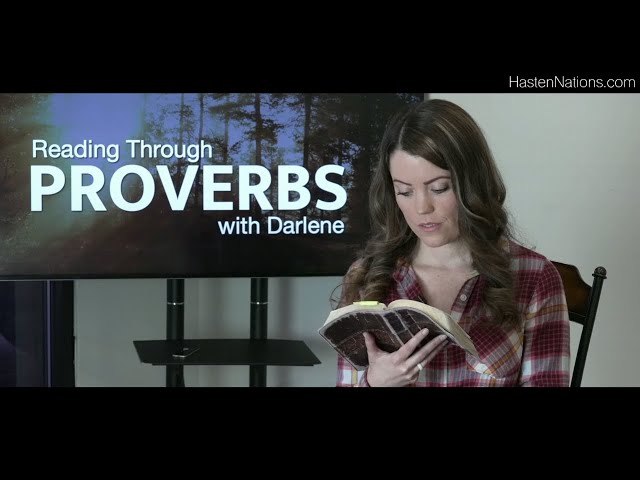 Proverbs 22 - Reading Through / Bible Study with Darlene Stanley