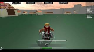 How To Be Levi On Attack On Titan ROBLOX