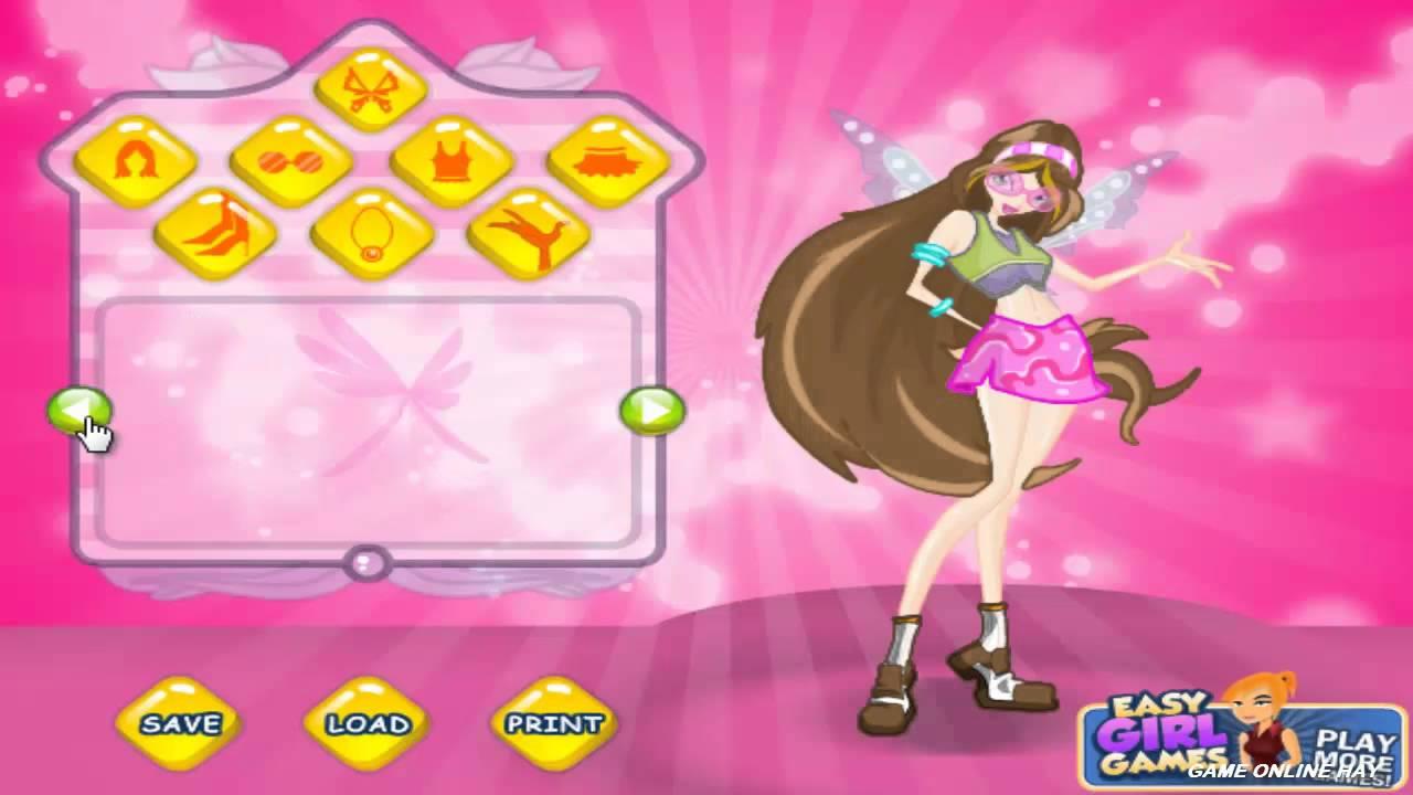 Game trang điểm công chúa Winx – Game vui 24h