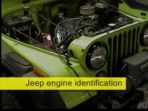jeep cj7 engine and transmission identification