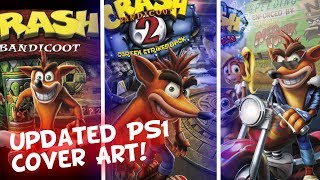 Crash Bandicoot N. Sane Trilogy PS1 Cover Art Remade - WARPED FOOTAGE THIS FRIDAY!