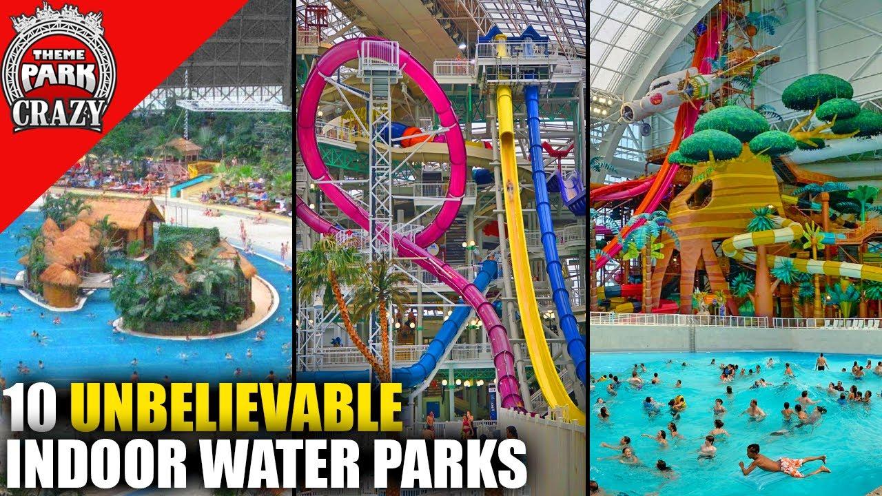 Top 10 UNBELIEVABLE Indoor Water Parks