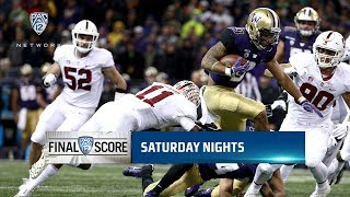 Highlights: Washington football holds off Stanford's second-half surge for 27-23 win