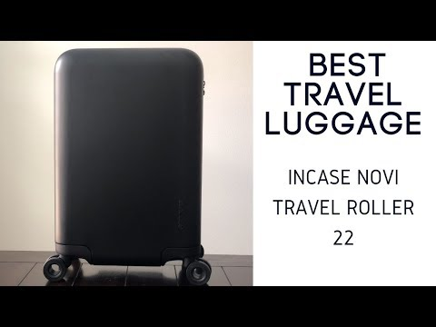 Incase Novi Travel Roller Suitcase Review - Stylish 22 In Hardshell Roller