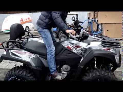 Видео обзор квадроцикла KYMCO MXU 700I от АртМото