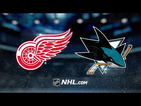 Meier, Tierney lead Sharks past Red Wings, 5-3