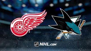 Meier, Tierney lead Sharks past Red Wings, 5-3