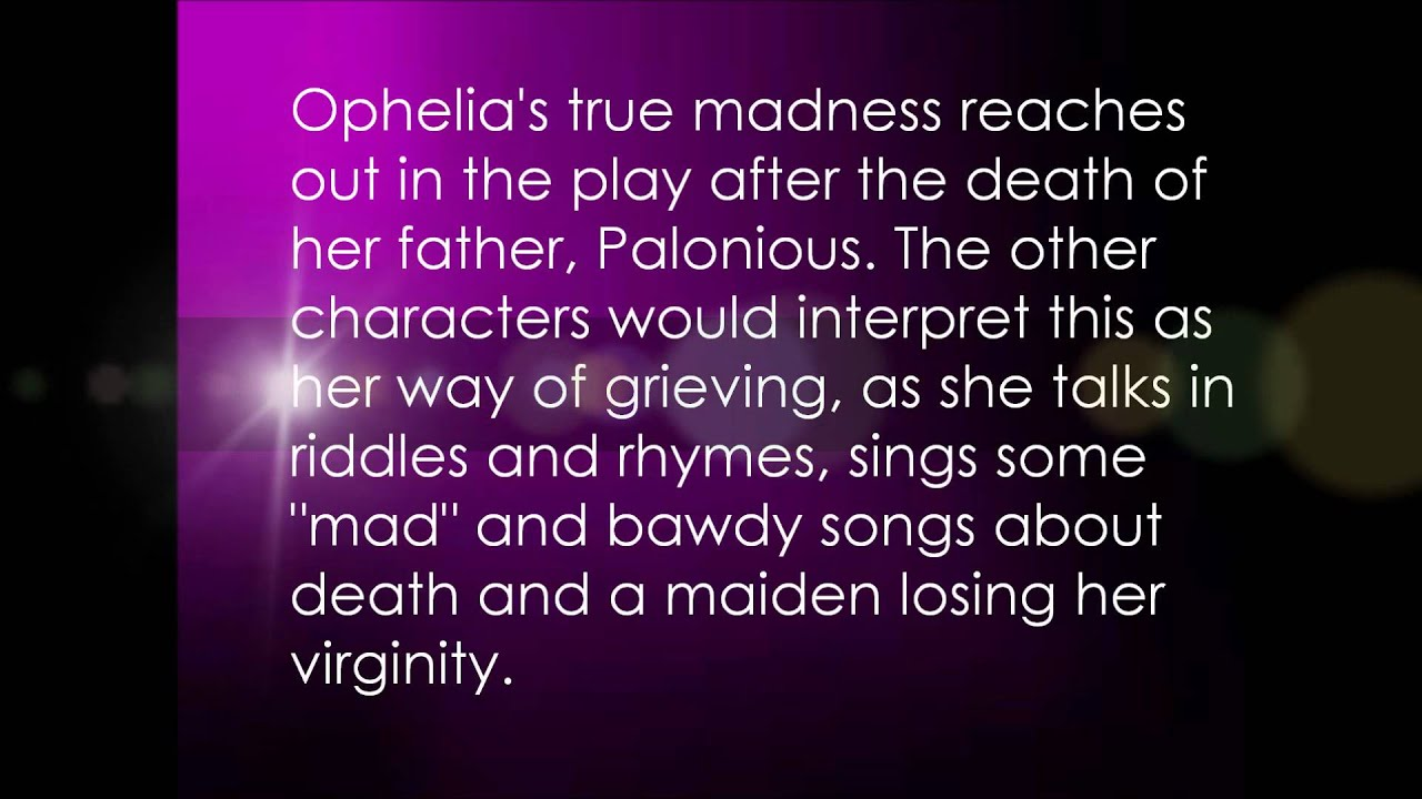 hamlet and ophelia s insanity and madness hamlet and ophelia s insanity and madness