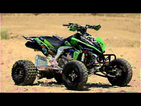 kawasaki kfx 450r - YouTube