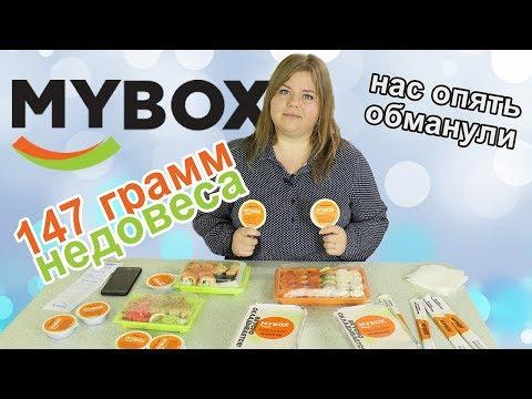 Обзор доставки еды MyBox или 147 грамм недовеса