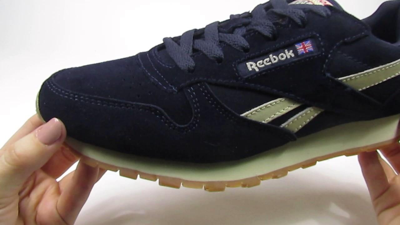 Краткий обзор на зимние кроссовки Reebok Classic с мехом - YouTube