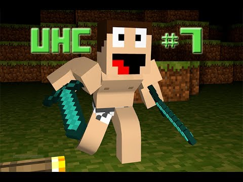 UHC #7 | Self Filling Charcoal Furnace Maker Thingy | Ultra Hardcore Survival