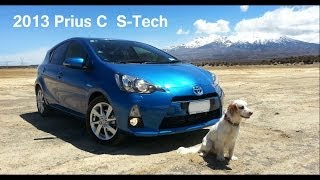 PRIUS C, Not Just a City Car! - Back Road Dash Cam Clips - New Zealand