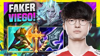 FAKER IS SO GOOD WITH VIEGO! - T1 Faker Plays Viego Jungle vs Elise! | Season 11