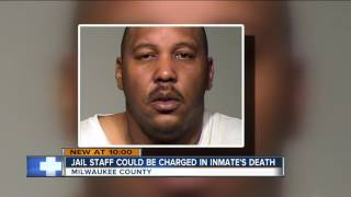 Jail staff could be charged in inmate's death