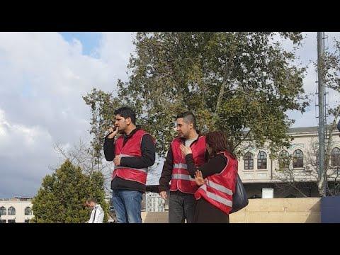 İstanbul Taşeron İşçilerin Eylemi