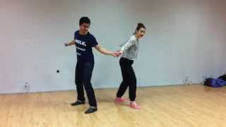 Ali & Katja Lindy Hop Workshop [Intermediate - Day 1] - Athens, Greece