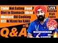 Q&A #10. Child Not Eating, Stomach Ulcer Diet,  Mustard Oil, B12 ki Kami ka ilaaj | Dr.Education