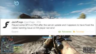 RUBBER BANDING FIXED on BF4!?!?
