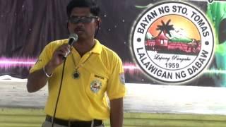 Barangay Day - 54th Araw ng Sto  Tomas, Davao del Norte