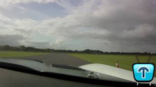 Dodge Viper Competition Coupe vs Audi R8 V10 FSi around Castle Combe