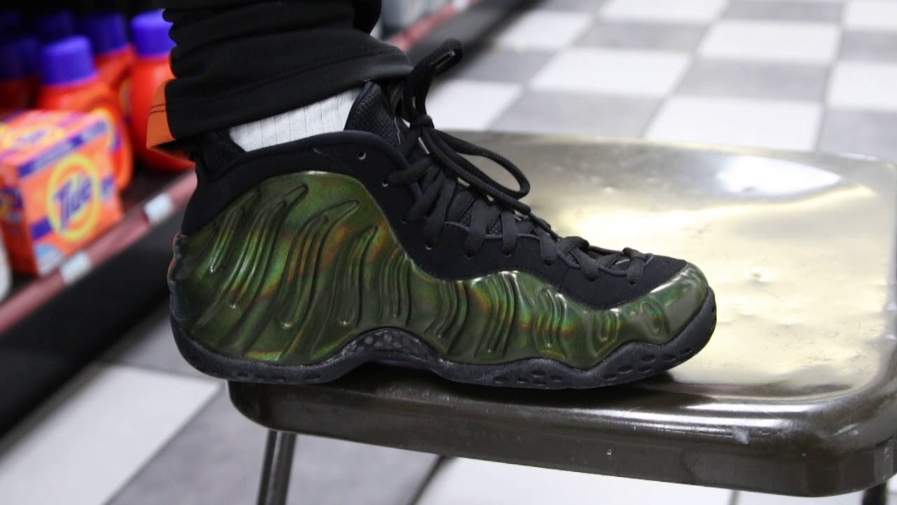 "0b7842229f44b Nike Air Foamposite One ""Legion Green"" (Dope or Nope) - YouTube"