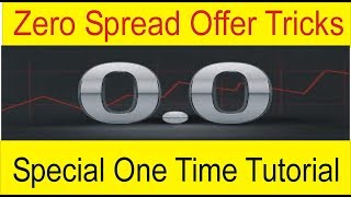 How To Trade Without Spread On EUR USD Pairs | Octafx One day offer Tutorial BY Tani Forex