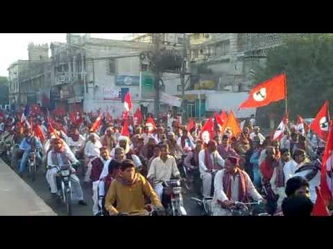 JSQM Sindhi Topi Ajrak Day Rally At Press Club Karachi 05 December 2010