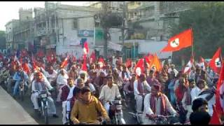 JSQM Sindhi Topi Ajrak Day Rally At Press Club Karachi 05 December 2010