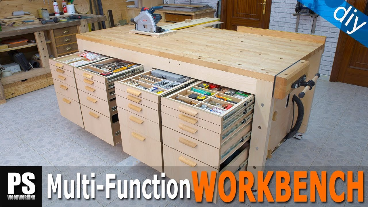 Cutting Station Plywood Workbench Presentation